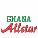 Región de Ghana/estado, juego de pista de Allstar Chaquetas Bordadas