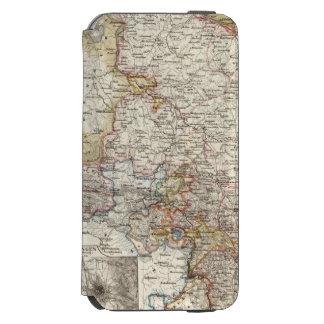 Región de Hannover de Alemania Funda Billetera Para iPhone 6 Watson