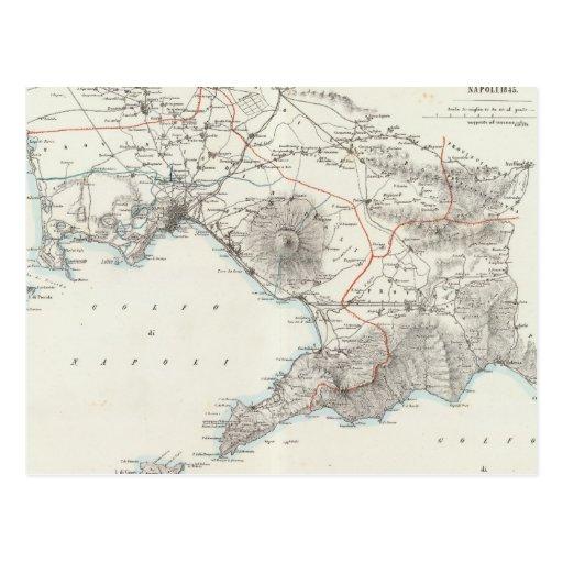 Región de Nápoles Italia Tarjetas Postales