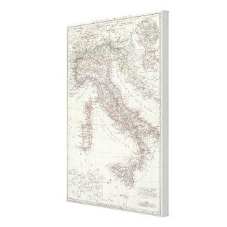Región de Roma Italia Lona Envuelta Para Galerías