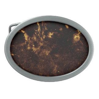 Región del centro galáctico en del infrarrojo hebillas cinturon ovales