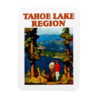 Región del lago Tahoe Imán Flexible
