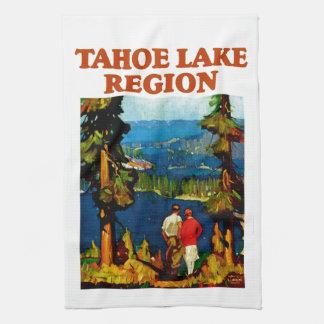 Región del lago Tahoe Toalla De Mano