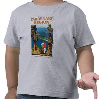 Región del lago Tahoe Camisetas