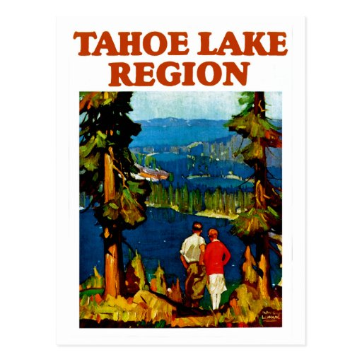 Región del lago Tahoe Tarjetas Postales