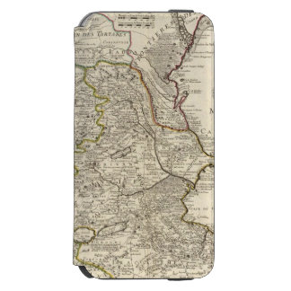 Región del mar Caspio Funda Billetera Para iPhone 6 Watson