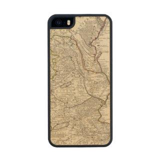 Región del mar Caspio Funda De Arce Carved® Para iPhone 5 Slim