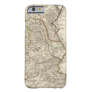 Región del mar Caspio Funda Para iPhone 6 Barely There