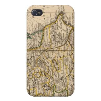 Región del mar Caspio iPhone 4/4S Fundas