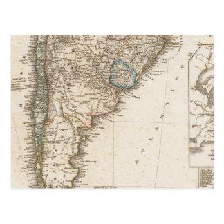 Región del sur de Suramérica Postal