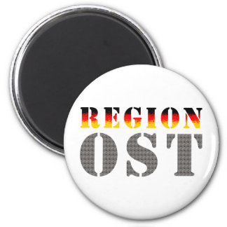 Region east - East Germany 2 Inch Round Magnet
