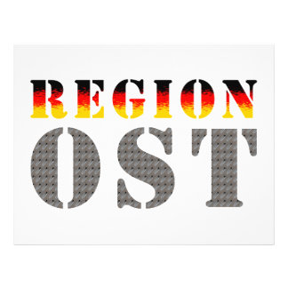 Region east - East Germany Flyer