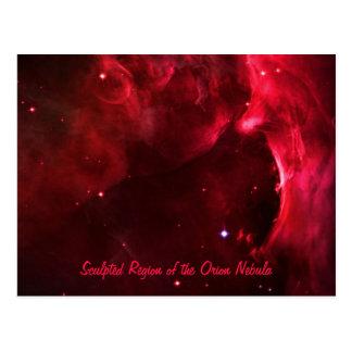 Región esculpida de la nebulosa de Orión Postal