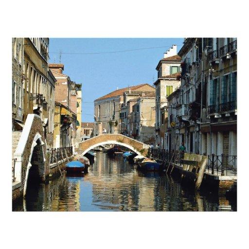 Región famosa, Venecia, Italia Tarjetas Informativas