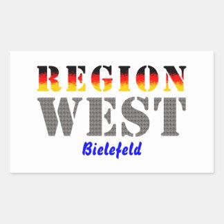 Región occidental Bielefeld Rectangular Altavoces
