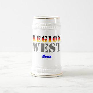 Región occidental Bonn Taza De Café