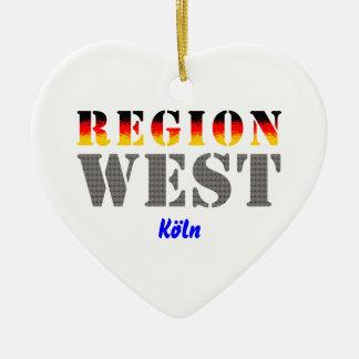 Región occidental colonia