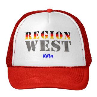 Región occidental colonia gorras de camionero