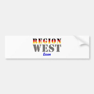 Región occidental comida