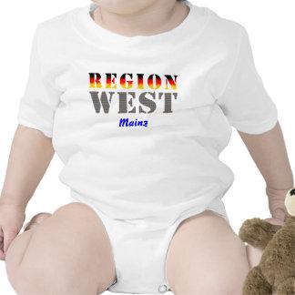 Región occidental De Maguncia Traje De Bebé