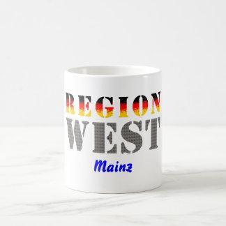 Región occidental De Maguncia Tazas