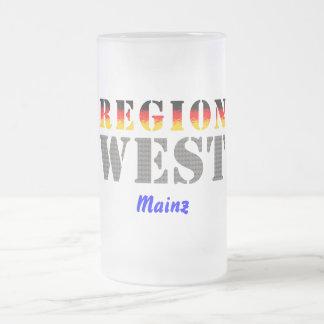 Región occidental De Maguncia Taza De Café
