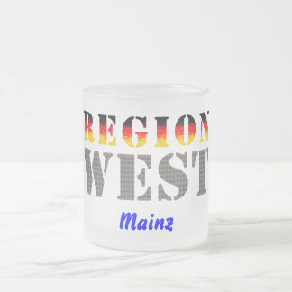 Región occidental De Maguncia Taza