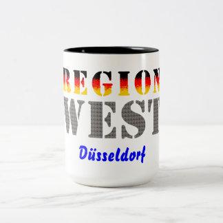 Región occidental Düsseldorf Tazas De Café