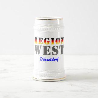 Región occidental Düsseldorf Tazas