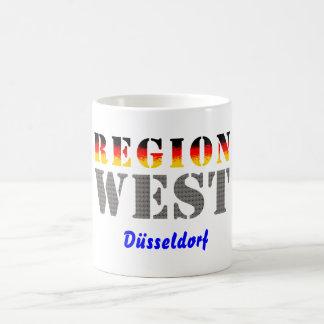Región occidental Düsseldorf Taza De Café