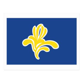 Region of Brussels Flag Postcards