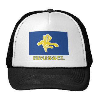 Region of Brussels Flag with Name (Dutch) Trucker Hat