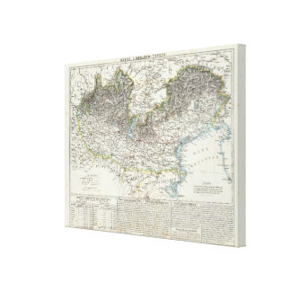 Region of Lombardy Canvas Print