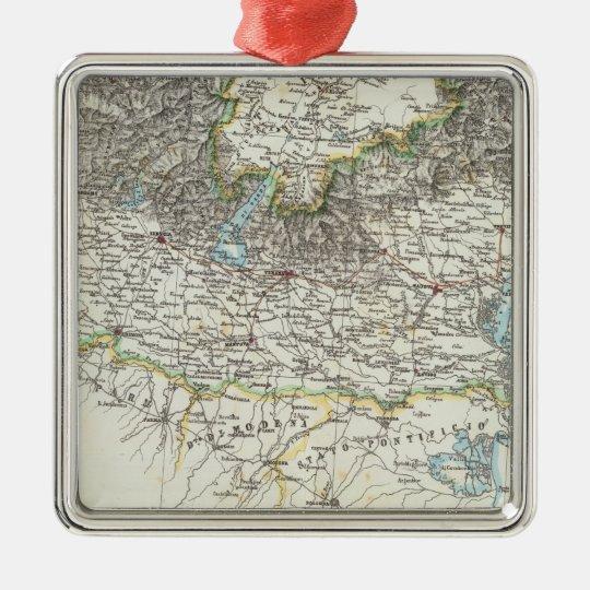 Region of Lombardy Metal Ornament