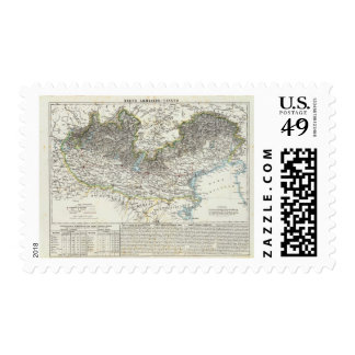 Region of Lombardy Postage