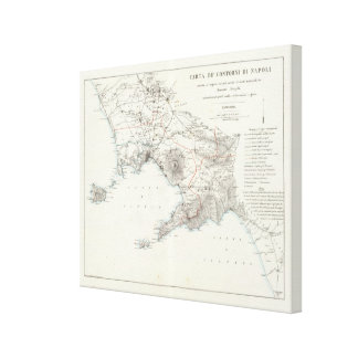 Region of Naples Italy Canvas Print