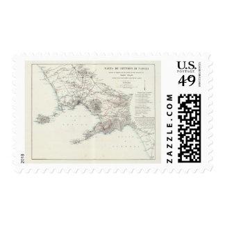 Region of Naples Italy Postage Stamp