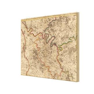Region of Paris France Canvas Print