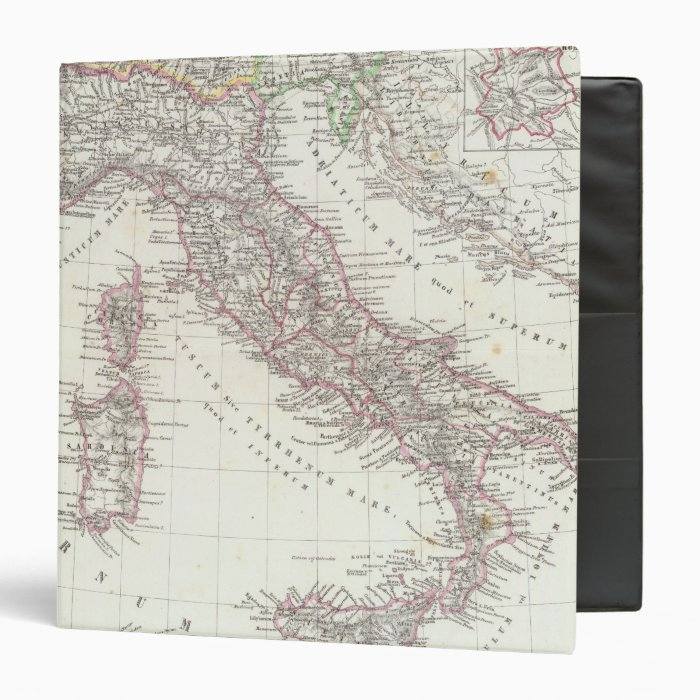 Region of Rome Italy 3 Ring Binder