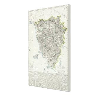 Region of Tuscany Italy Canvas Print