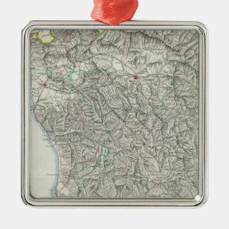 Region of Tuscany Italy Christmas Ornament