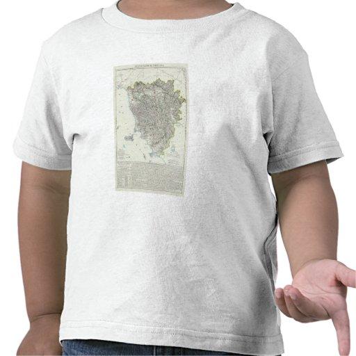 Region of Tuscany Italy T Shirts