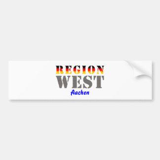 Region west - Aachen Bumper Sticker