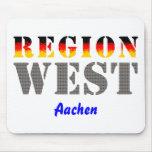 Region west - Aachen Mouse Pad