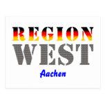 Region west - Aachen Postcard