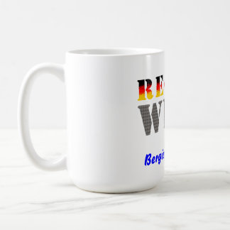 Region west - Bergisch Gladbach Classic White Coffee Mug