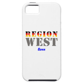 Region west - Bonn iPhone 5 Schutzhülle