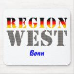 Region West - Bonn Mauspads