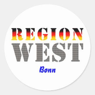 Region west - Bonn Stickers