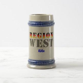 Region west - Cologne Coffee Mugs